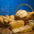Bread in basket — Stock Photo #1825519