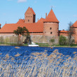 Castle in Trakai — Stock Photo