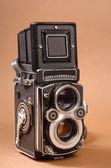 Old photo camera — Stock Photo