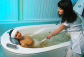 Hydro massage — Stock Photo