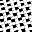 Blank Crossword Puzzle - Photo