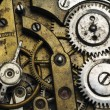 Stock Photo: Old pocket watch mechanism
