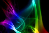 Colorful Rainbow Smoke — Stock Photo