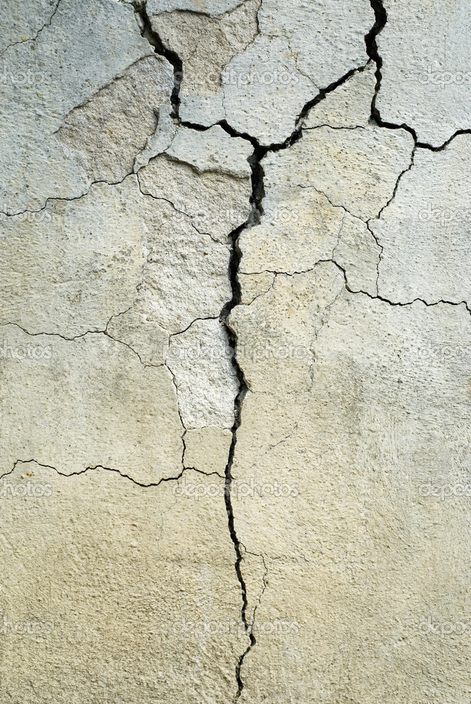 Broken Concrete background — Stock Photo #1807769