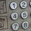 Stock Photo: Public phone detail