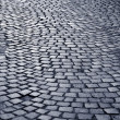 Stock Photo: Blue cobblestone way
