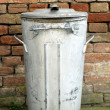 Garbage Can — Stock Photo