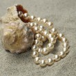 Snail with pearls — Stock Photo #1853599