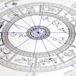 la ruota dello zodiaco — Foto Stock