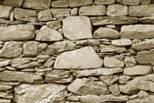 Old Turkish stone wall — Stock Photo