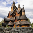 Stock Photo: Norway. Heddal Stave Church