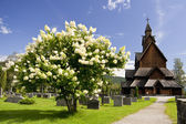 Norway Church — Stock Photo
