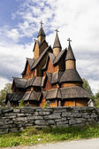 Norway. Heddal Stave Church — Stock Photo