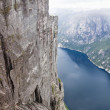 Norway. Lysefjord — Stock Photo