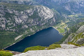 View of Lysefjord — Stock Photo