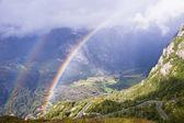 Double rainbow — Stock Photo