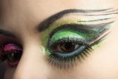 Augen make-up — Stockfoto