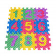 Royalty-Free Stock Photo: Color numbers