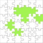 enigma — Foto Stock
