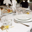 Catering and banquet - Stock Photo