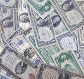 Old US money — Stock Photo