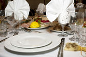 Catering and banquet — Stock Photo