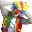 rolig clown滑稽小丑 — Stockfoto