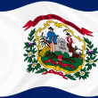 West Virginistate flag — Stock Photo #2632117