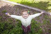 Fille heureuse — Photo