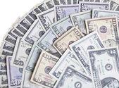 US paper money — Stock Photo