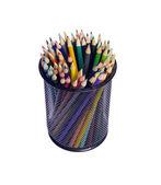 Multi color pencils — Stock Photo