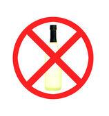 No hay rastros de alcohol — Foto de Stock