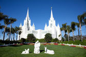 Mormons Temple — Stock Photo