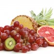 Group of colour fruit - Stock Photo