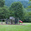 Stock Photo: Playground in Forrest