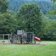 Playground in the Forrest — Stock Photo