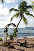Beach Wedding — Foto de Stock