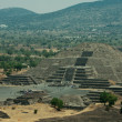 Teotihuacan piramides in mexico america — Stock Photo