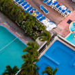 Stock Photo: Acapulco resort swimming pools