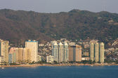 Acapulco coastline in mexico — Stock Photo