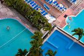 Acapulco resort pooler — Stockfoto