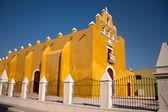 Campeche alte stadtkirche — Stockfoto