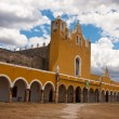 Izamal convent — Stock Photo
