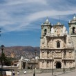 Stock Photo: Oaxaca old town church