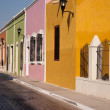 Stock Photo: Campeche old town