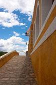 Izamal convent — Stock Photo