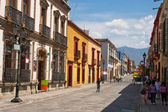 Oaxaca old town street — Stock Photo