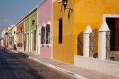 Campeche old town — Stock Photo