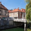 Stock Photo: Ljubljanold town