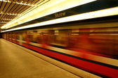 Poland Underground Subway — Foto Stock